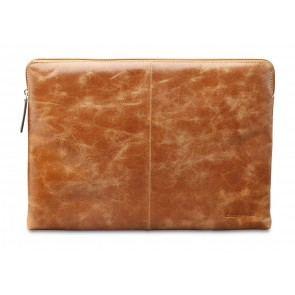 dbramante1928 Skagen Leather Sleeve MacBook 15 inch Tan voorkant