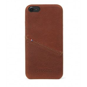 Decoded iPhone 7/6S/6 Leather Back Cover Brown