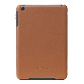 Decoded Leather Slim Cover iPad Mini Retina Brown Achterkant