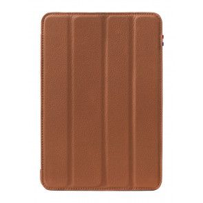 Decoded Leather Slim Cover iPad Mini Retina Brown Voorkant