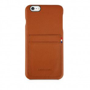 Decoded iPhone 6/6S Plus Leather Back Cover Brown