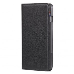 Decoded iPhone 6 Plus Leather Wallet Case Black Binnenkant Voorkant