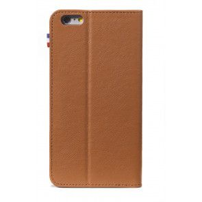 Decoded iPhone 6 Plus Leather Surface Wallet Brown Achterkant