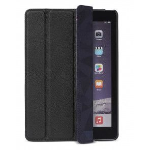 Decoded Leather Slim Cover iPad Air 2 Black Voorkant