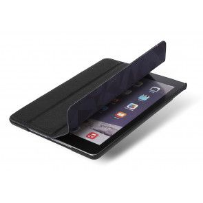 Decoded Leather Slim Cover iPad Air 2 Black Liggend