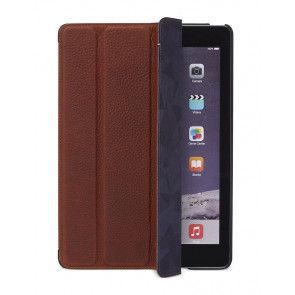 Decoded Leather Slim Cover iPad Air 2 Brown Voorkant