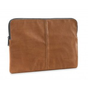 Decoded Leather Sleeve MacBook Air 12 inch Brown Voorkant