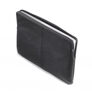 Decoded Leather Slim Sleeve MacBook 13 inch Black