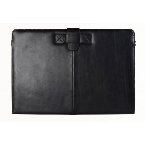 Decoded Leather Sleeve Strap MacBook Air 11 inch Black Vfoorkant