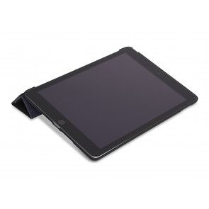 Decoded Leather Slim Cover iPad Air 2 Black Kijkstand