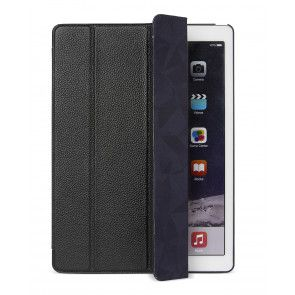 Decoded Leather Slim Cover iPad Pro 12,9 inch Black Voorkant