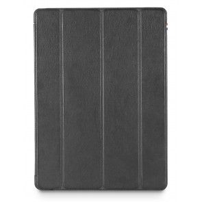 Decoded Leather Slim Cover iPad Pro Black voorkant