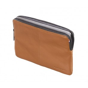 Decoded Leather Slim Sleeve iPad Mini Brown Voorkant