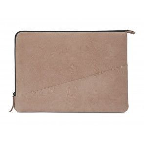 Decoded Leather Slim Sleeve MacBook Pro 13 inch / Pro Retina 13 inch Rose Achterkant