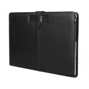 Decoded Leather Sleeve MacBook Pro 13 inch Retina Black Strap Voorzijde