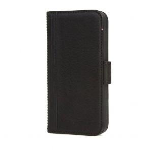 Decoded iPhone 5/5S/SE Leather Wallet Case met magneetsluiting Black Voorkant