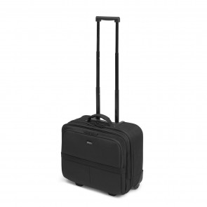 Dicota Laptop Trolley 14-15.6 inch Eco Multi Roller SCALE Zwart Voorkant
