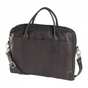 dR Amsterdam Icon Laptoptas 13.3 inch Taupe Voorkant