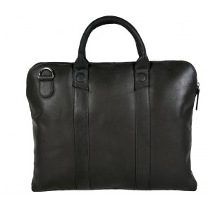 DSTRCT Fletcher Street Business Bag Black 13 inch Achterkant
