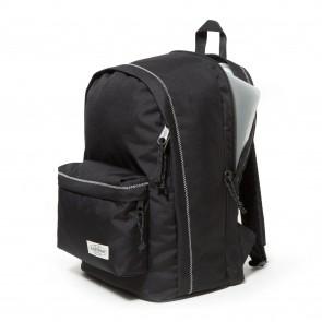Eastpak Back to Work Rugzak Black Stitched 15 inch Voor- zijkant