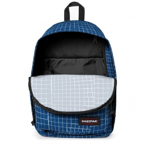 Eastpak Back to Work Rugzak Blue Dance 15 inch Open