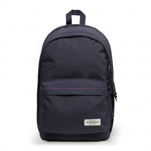 Eastpak Back to Work Rugzak Navy Stitched 15 inch Voorkant