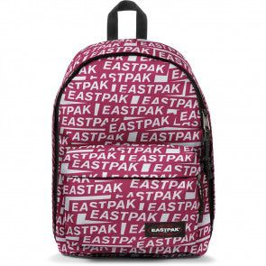 bf9d04c425c Eastpak Laptop Rugzak 14 inch Out of Office Chatty Sticker Voorkant ...