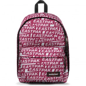Eastpak Laptop Rugzak 14 inch Out of Office Chatty Sticker Voorkant