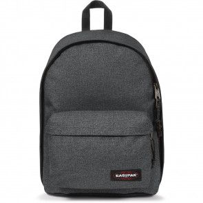 Eastpak Laptop Rugzak 14 inch Out of Office Zwart Denim Voorkant