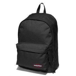 Laptoptas Eastpak Out of Office Rugzak Black 14 inch Voorkant