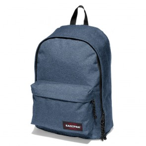 Laptoptas Eastpak Out of Office Rugzak Double Denim 15 inch Voorkant