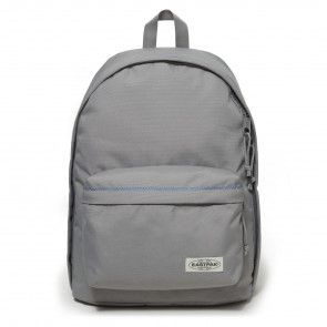 Eastpak Out of Office Rugzak Grey Stitched 14 inch Voorkant