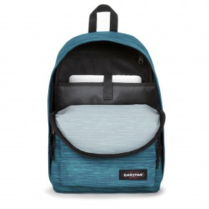 Eastpak Out of Office Rugzak Knit Blue 14 inch Open