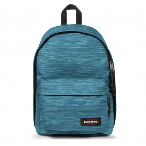 Eastpak Out of Office Rugzak Knit Blue 14 inch Voorkant
