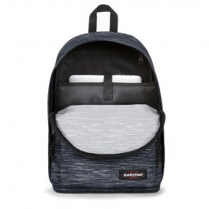 Eastpak Out of Office Rugzak Knit Grey 14 inch Open