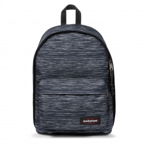 Eastpak Out of Office Rugzak Knit Grey 14 inch Voorkant
