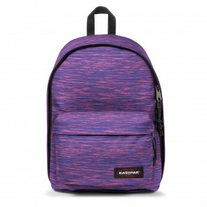 Eastpak Out of Office Rugzak Knit Pink 14 inch Voorkant