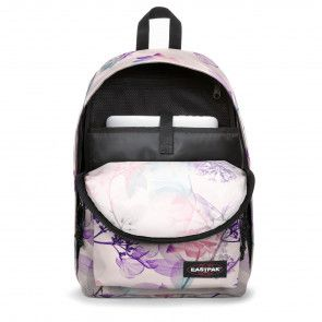 Eastpak Out of Office Rugzak Pink Ray 14 inch Open