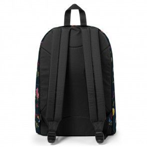Eastpak Out of Office Rugzak Black Plucked 14 inch Achterkant