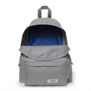 Eastpak Padded Pak'r Rugzak Grey Stitched Open