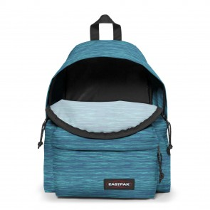 Eastpak Padded Pak'r Rugzak Knit Blue Open