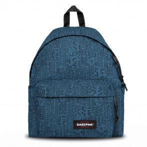 Eastpak Padded Pak'r Rugzak Navy Blocks Voorkant