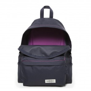 Eastpak Padded Pak'r Rugzak Navy Stitched Open