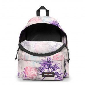 Eastpak Padded Pak'r Rugzak Pink Ray Open