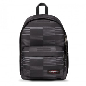 Eastpak Laptop Rugzak 14 inch Out of Office Startan Zwart Voorkant