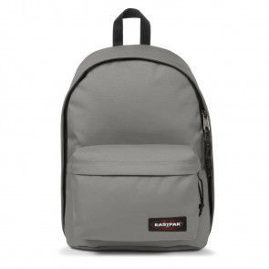 Laptoptas Eastpak Out of Office Rugzak Silky Grey 14 inch Voorkant