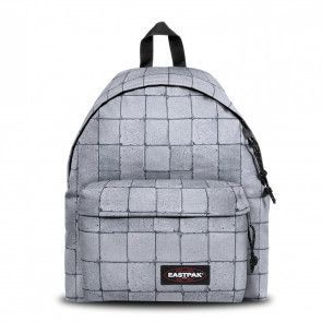 Eastpak Rugzak Padded Pak'r Cracked Wit Voorkant