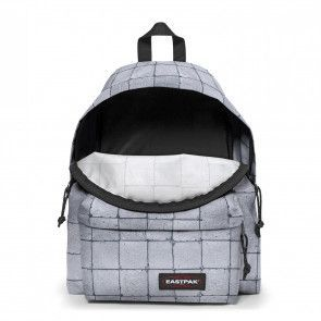 Eastpak Rugzak Padded Pak'r Cracked Wit Voorkant open