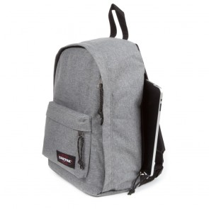 Eastpak Tordi Rugzak iPad/Tablet Sunday Grey Zijkant/iPad vak