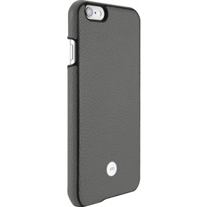 Just Mobile Quattro Back Cover iPhone 6/6S Grey achterkant met silver iPhone